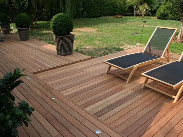 pose d une terrasse en bois construire une terrasse en bois vous